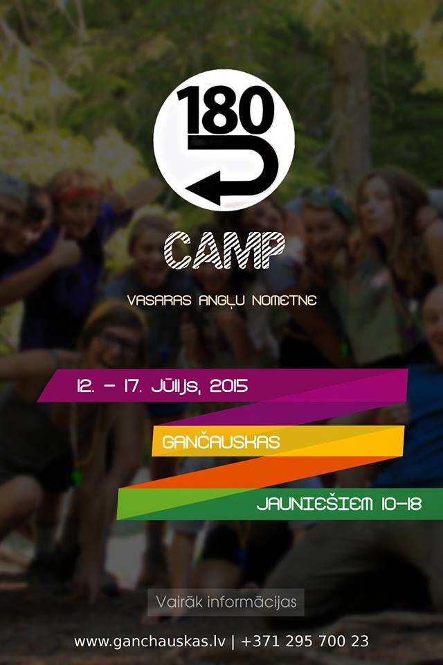 CAMP 180 official poster